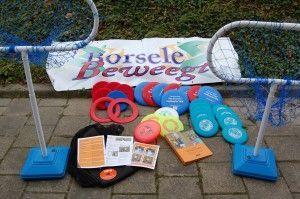 Frisbee tas Borsele Beweegt